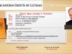 Convite 20/07/2021: Tertúlia da Academia Cristã de Letras